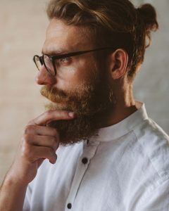 Man with full beard